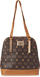 Beverly Hills Polo Club Backpack for Women-Brown