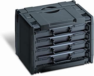 Rack-Systainer 4 with 4 Rack-Boxes Anthracite