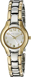 Anne Klein Women's 10-6777SVTT Two-Tone Dress Watch with an Easy to Read Dial
