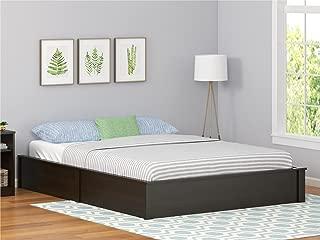 Ameriwood Home Queen Platform Bed Frame, Espresso