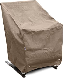 KoverRoos III 34222 High Back Chair Cover, 32-Inch Width by 37-Inch Diameter by 39-Inch Height, Large Taupe