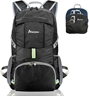 35L Lightweight Packable Backpack,Durable Travel Hiking Daypack,Foldable Camping Backpack