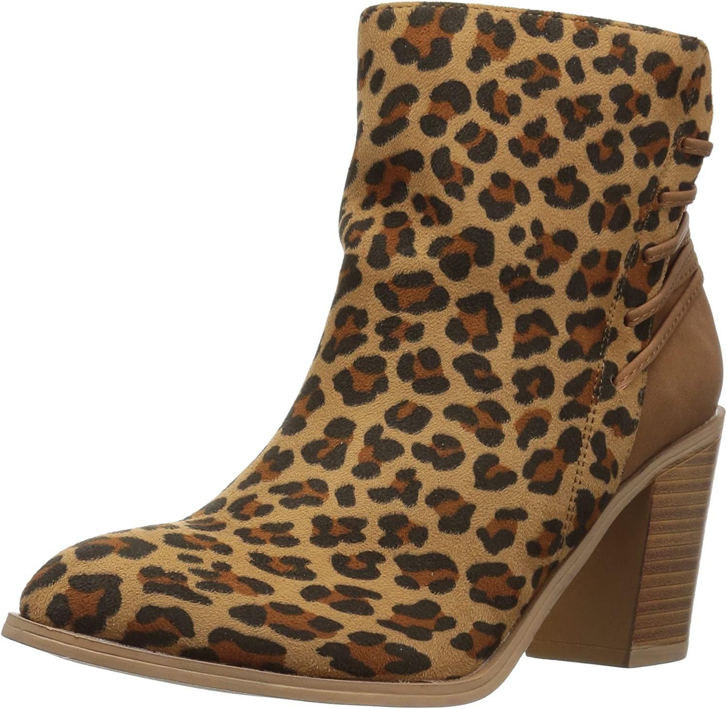 Very Volatile Womens Lacey Ankle Bootie