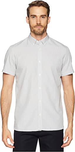 Dot Dobby Button Down Shirt