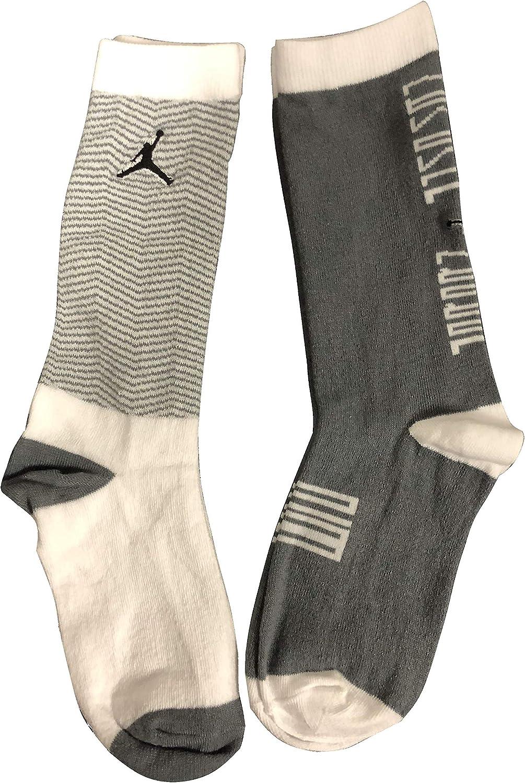 Boy's 2-Pack Crew Socks 5Y-7Y/9-11 (Sock Size)
