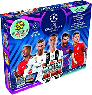 Topps UEFA Champions League TCG Collection Bonanza Pack 2018/19 by Topps, Blue