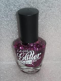 L.A. Girl Glitter Nail Polish 'Provocative' 0.47 Oz