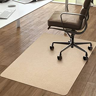 """Vicwe Chair Mat, 1/6"""" Thick 36""""x56"""" Office Home Chair Mat for Hard Floor Protection, Anti-Slip, Multi-Purpose Floor Mat fo..."""