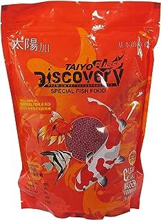 Taiyo Pluss Discovery Fish Food 1kg (Food Size : 2.5mm Pellet)