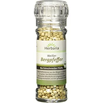 Herbaria Bergpfeffer weiß bio, 1er Pack (1 x 55 g)