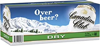 Canadian Club Whisky & Dry Cans 10 Pack 375ml (Pack Of 10)