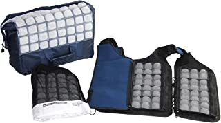 Personal Cooling Kit - Ice Vest with Additional Ice Sheets and Travel Cooler (zipper)