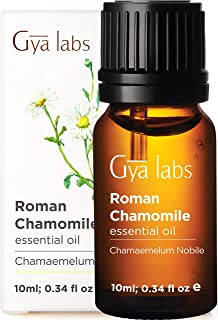 Sponsored Ad - Gya Labs Roman Chamomile Essential Oil for Stress Relief, Sleep and Relaxation - Topical Use For Sensitive ...