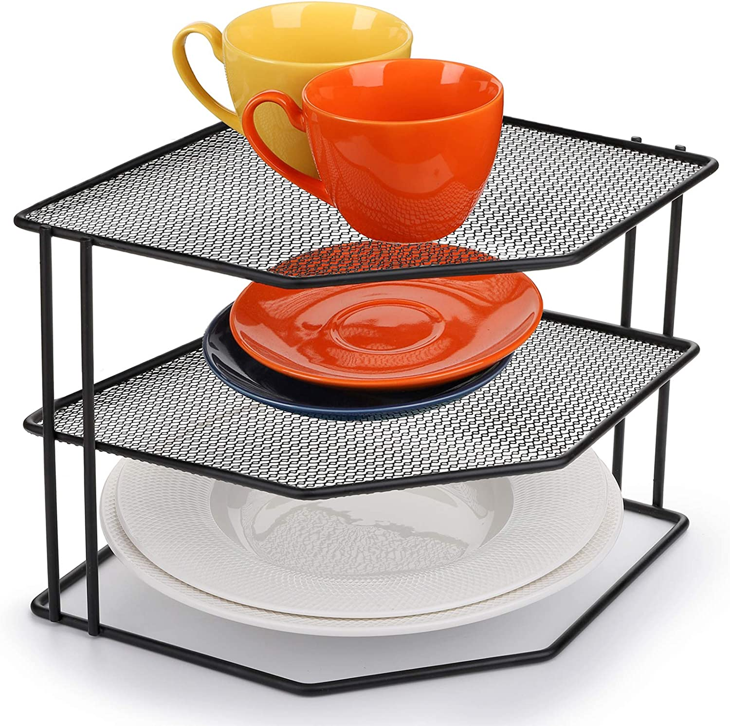 yarlung 3-Tier Cabinet Corner Shelf 9x9x7.5 Metal Inches Wire shipfree P SEAL limited product