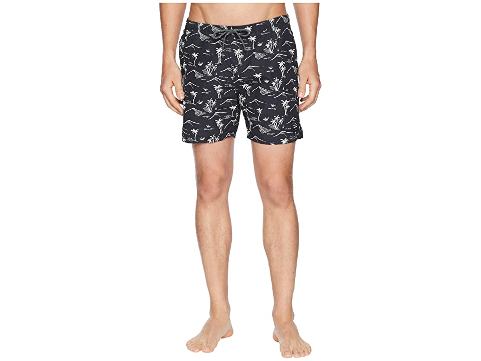 Scotch & Soda Elasticated Swim Shorts with Colourful All Over Print (Combo D) Men