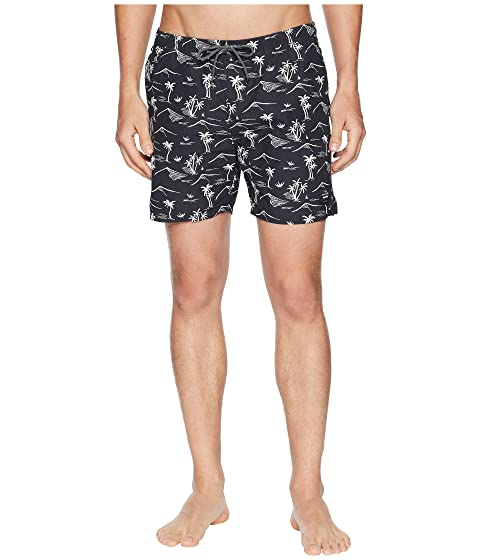 Big Discount Sale Online Online Cheap Authentic Scotch & Soda Elasticated Swim Shorts with Colourful All Over Print Combo D Orange 100% Original x2Bw0XZ