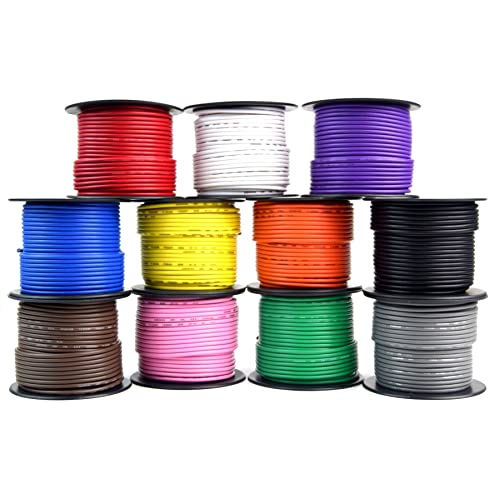 PINK 16 GXL HIGH TEMP AUTOMOTIVE WIRE 500 FOOT SPOOL OF PINK