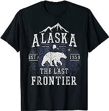 Alaska The Last Frontier Shirt - Adventure Alaskan Home Gift