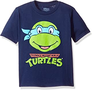 Teenage Mutant Ninja Turtles Nickelodeon Little Boys' Toddler Short Sleeve T-Shirt, Navy, 5T