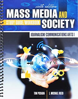 Journalism/Communications Arts I: Mass Media and Society: Study Guide/Workbook