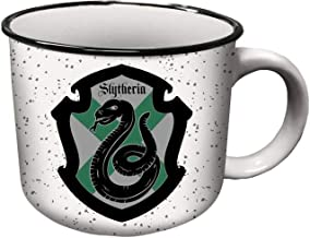 Spoontiques Slytherin Camper Mugs, 14 oz, Green
