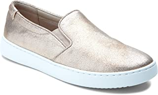 Vionic Women's Pro Mahoney Avery Slip-on - Ladies Water Resistant Slip Resistant Service Shoes with Concealed Orthotic Arch Support