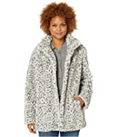 Snow Leopard w/ Faux Fur