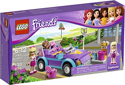 3183 LEGO Friends Stephanie/'s Cool Convertible 100/% Complete with Manual.