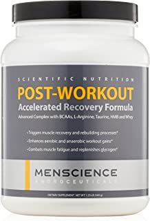 MenScience Androceuticals Post-Workout Accelerated Recovery Formula