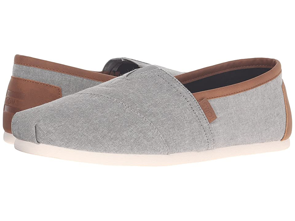 TOMS Chambray Classics (Frost Grey Chambray) Men