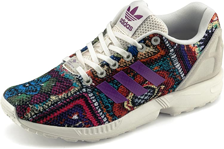 adidas ZX Flux Femme Chaussures Multi-Couleur : Amazon.fr ...