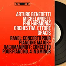 Ravel: Concerto pour piano in G Major - Rachmaninoff: Concerto pour piano No. 4 in G Minor (Stereo Version)