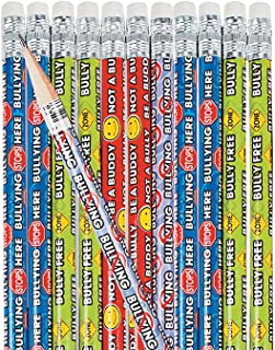 Fun Express - Anti-Bullying Pencils - Stationery - Pencils - Pencils - Printed - 24 Pieces