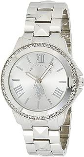 U.S. Polo Assn. Women's Silver Dial Alloy Band Watch - USC40081
