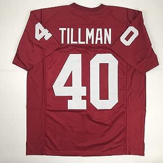 Unsigned Pat Tillman Arizona Red Custom Stitched Football Jersey Size XL New No Brands/Logos