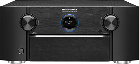 Marantz AV Receiver SR7013 - 9.2 Channel with eARC | Auro 3D, IMAX Enhanced, Dolby Surround Sound – 3 Zone Power| Amazon Alexa Compatibility & Online Streaming| Works with Home Automation Systems