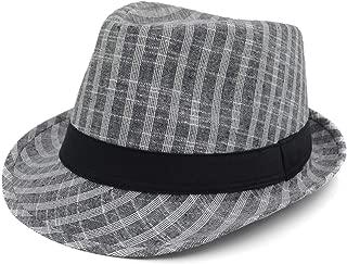 Melesh Unisex Classic Trilby Fedora Hat