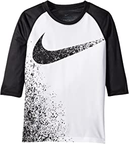 Nike Kids - Dry Legend 3/4 Sleeve Training T-Shirt (Little Kids/Big Kids)
