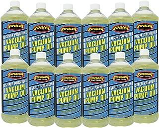 TSI Supercool V32-12CP Super Premium Synthetic Vacuum Pump Oil - 32 oz, 12 Pack