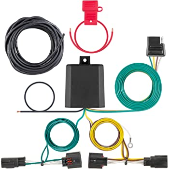 amazon.com: curt 56331 vehicle-side custom 4-pin trailer wiring harness,  select chrysler town and country, dodge grand caravan: automotive  amazon.com