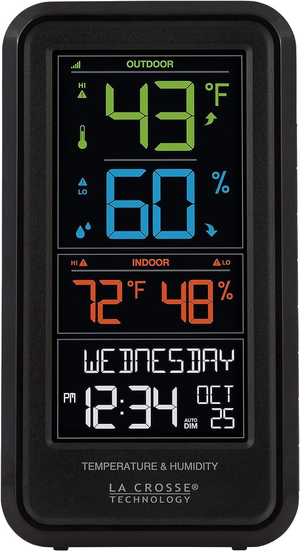 La Dealing full price reduction Crosse Technology S82967-INT Personal Weathe Wireless Wholesale Digital