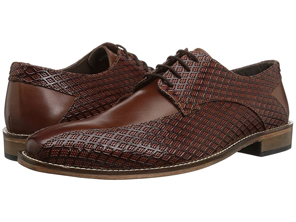 Stacy Adams Gianluca Bike Toe Oxford (Cognac) Men
