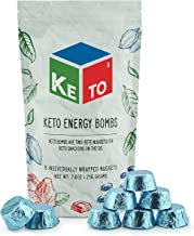 Keto Squared Snacks Fat Bombs (8-Pack, Macadamia Crème); Keto² Energy Meal Replacement for On the Go