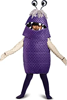 Boo Deluxe Toddler Costume, Purple, Small (2T)
