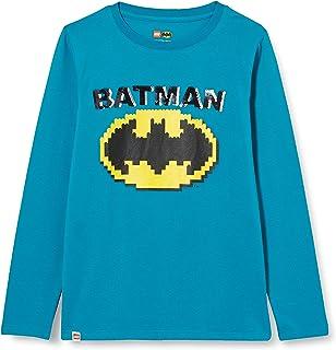 LEGO MW-Langarmshirt Wendepailletten Batman T-Shirt Bambino