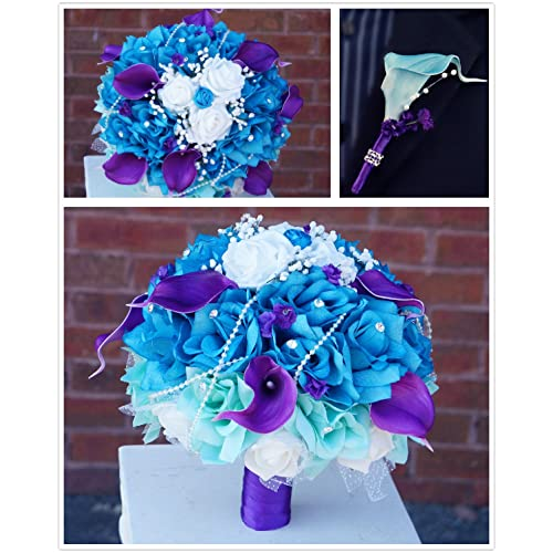 Purple And Turquoise Wedding: Amazon.com