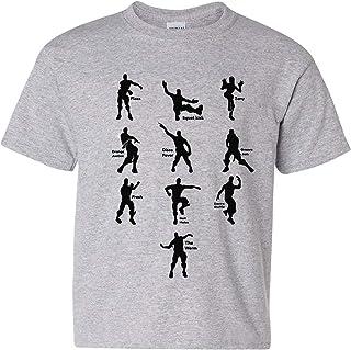 UGP Campus Apparel Kids Emote Dances - Funny Youth T Shirt