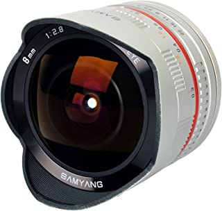 Samyang SY28FE8S-SE 8mm F2.8 Ultra-Wide Fisheye Lens for Sony E-mount and NEX Cameras