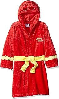 DC Comics Boys' Superhero Plush Velvet Fleece Robe