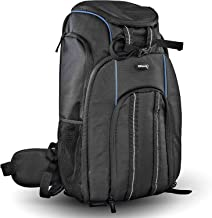 Ultimaxxs Ultra-Lightweight Camera Backpack with Compact Lightweight Premium Luggage Cart and Removable Insert, Shock Resistance, Tear Resistance for Nikon,Canon,Sony,Olympus, and Panasonic DSLRs